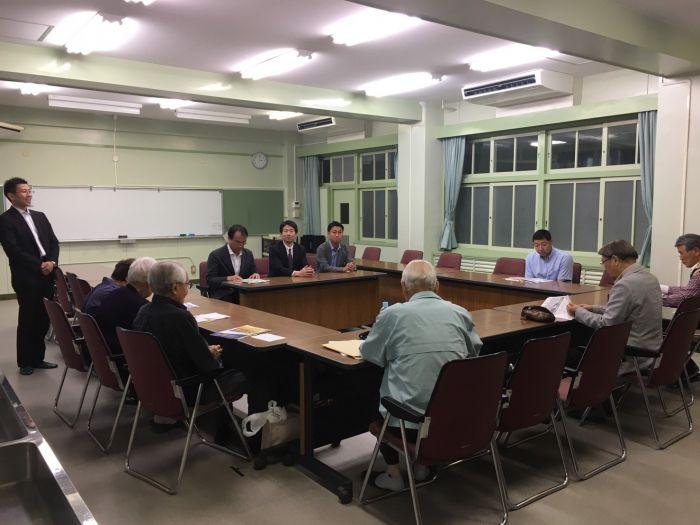 二城学区のタウンミーティング