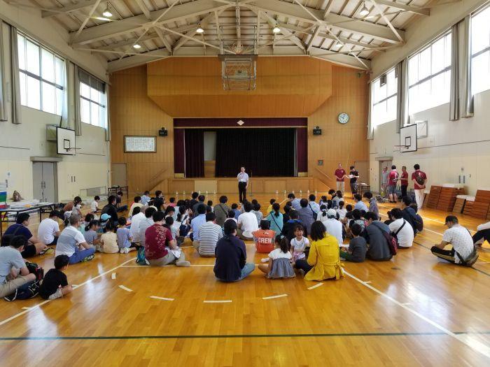小幡小学校のおやじの会のイベントです。