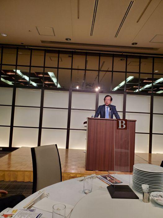 今日は私の会にホンマデッカTVでお馴染みの武田先生が来てくれました。