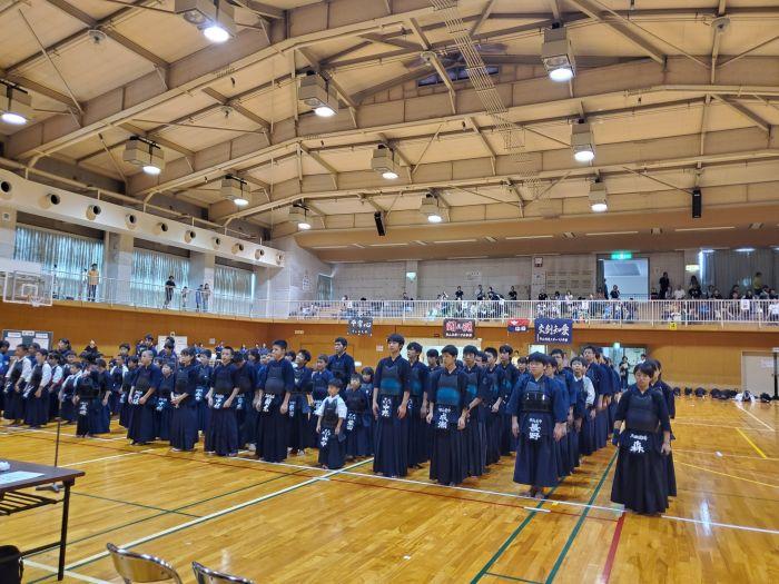 守山区の剣道大会です。