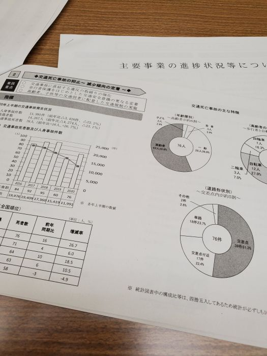 残念ながら現在愛知県は交通死亡事故全国ワースト1